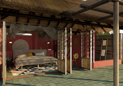 Rendered Image of new Chalet